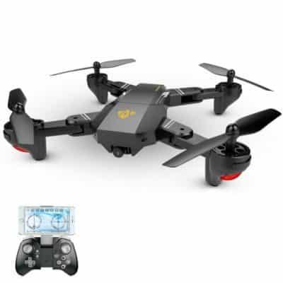 Oferta dron plegable Visuo XS809W por 44 euros (Cupón Descuento)