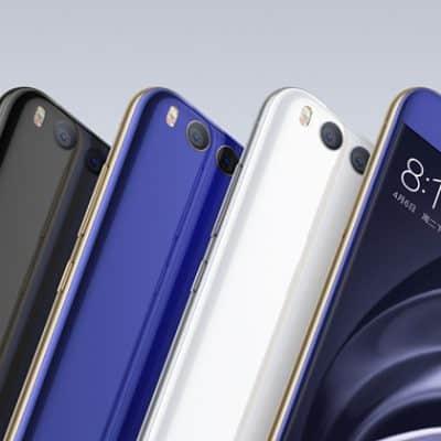 Oferta Xiaomi Mi6 por 436 euros (Oferta de lanzamiento)