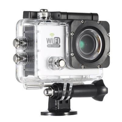 Oferta cámara deportiva WIfi 1080p por 20 euros (Cupón descuento)