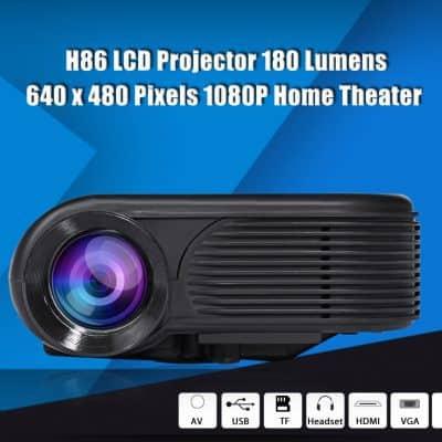Oferta Proyector H86 1080P por 47 euros (20% dto.)