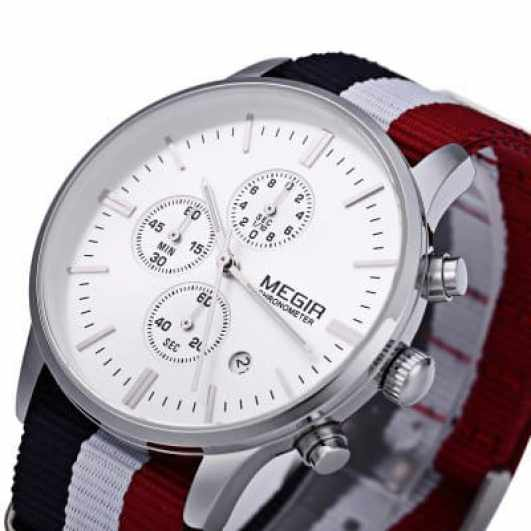 Oferta reloj MEGIR por 14 euros (66% descuento)