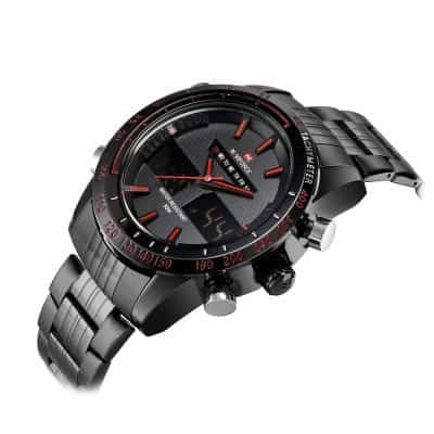 Oferta reloj Naviforce de acero por 12 euros (48% descuento)