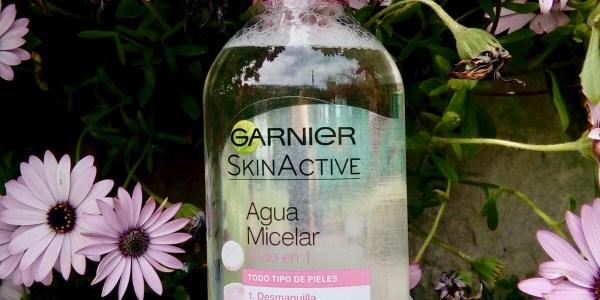 agua micelar de garnier