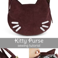 Freebie Friday! Kitty Purse