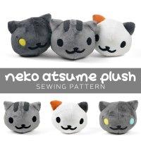 Free Pattern Friday! Neko Atsume Plush