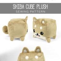Free Pattern Friday! Shiba Cube Plush
