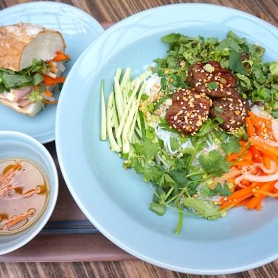 Bun Cha and Banh Mi Set