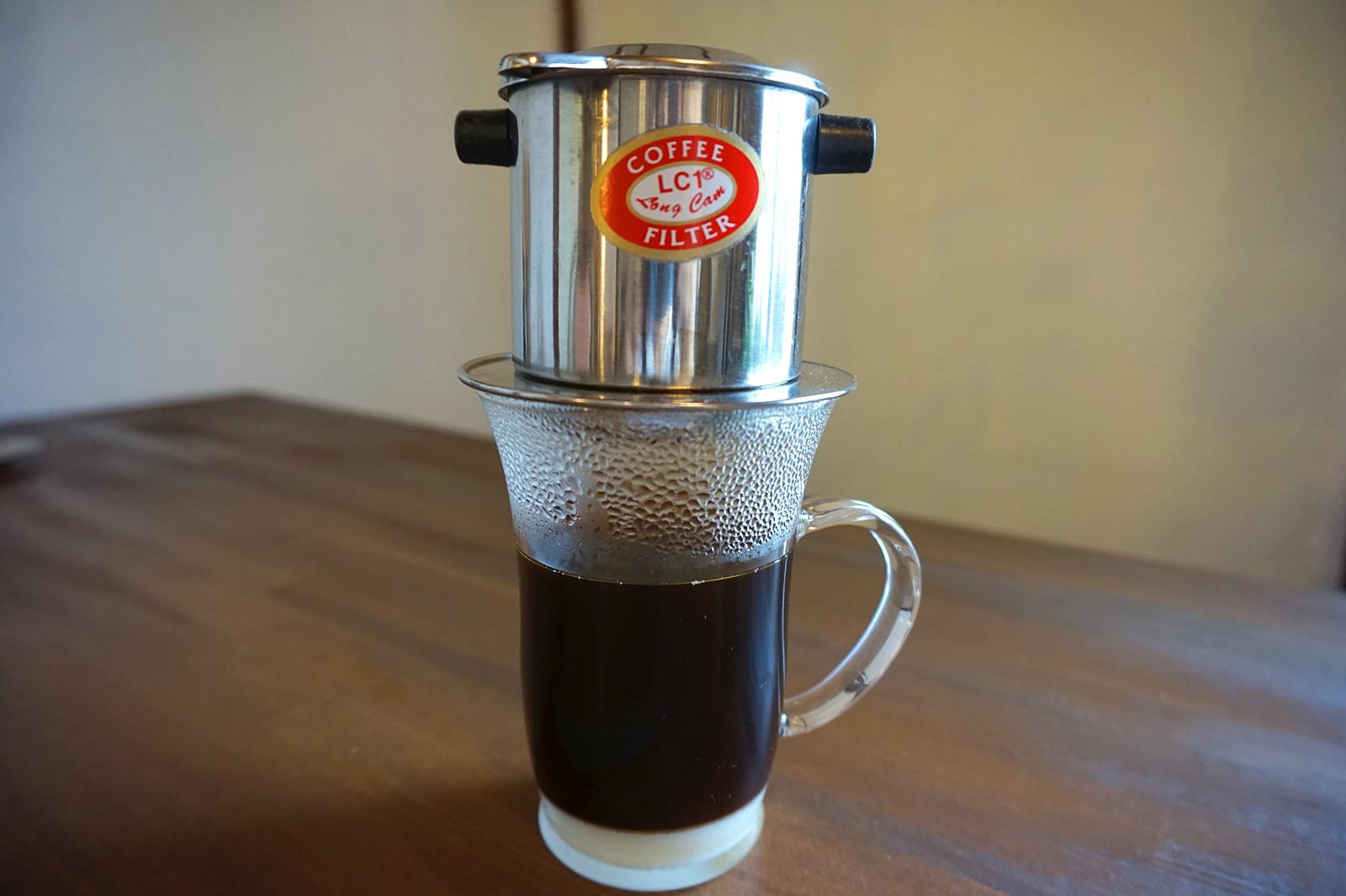 ホット・ベトナムコーヒー