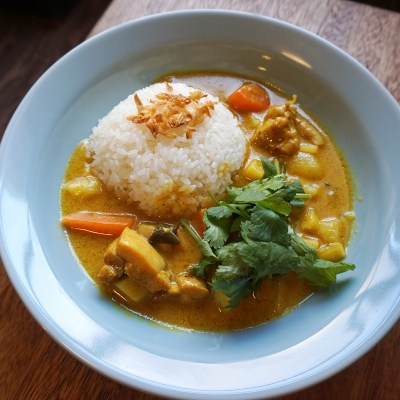 Lemongrass Chicken Curry with Rice