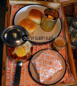 Hardy bhais ishtyle breakfast