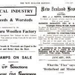 How NZ Baptist churches responded during the 1918 influenza outbreak