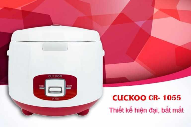 Nồi Cơm Điện Nắp Gài Cuckoo CR- 1055 - 1.8L