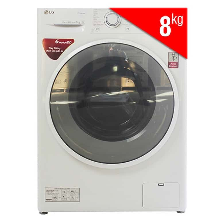 Máy Giặt Cửa Ngang Inverter LG FC1408S4W2