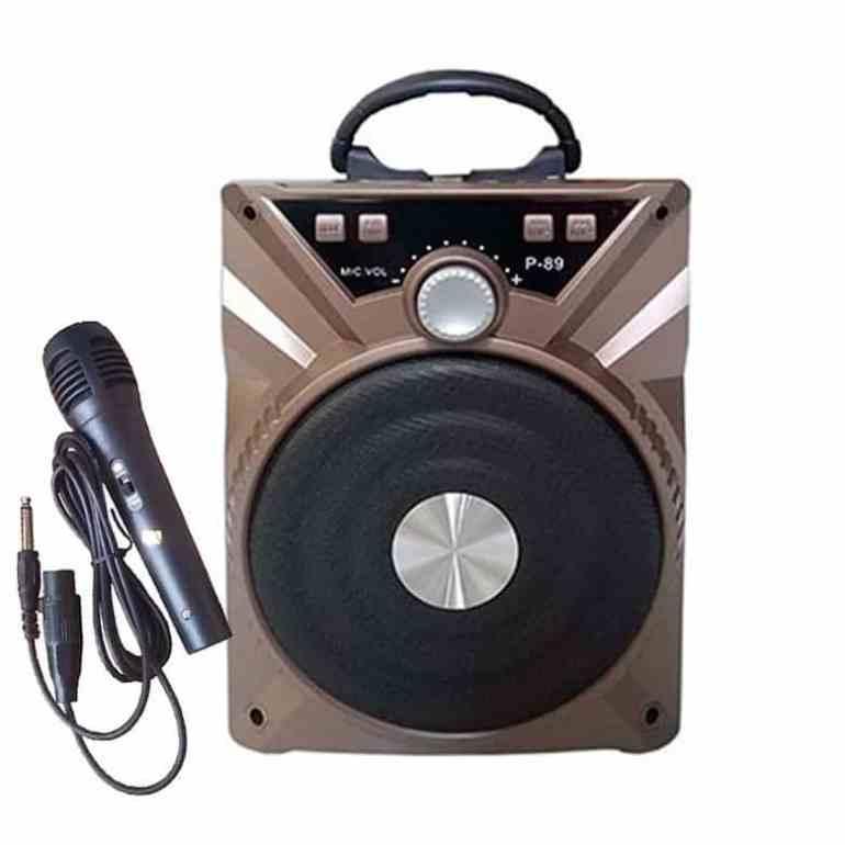 Loa Bluetooth P88/P89 (Tặng Kèm Mic)Loa Bluetooth P88/P89 (Tặng Kèm Mic)