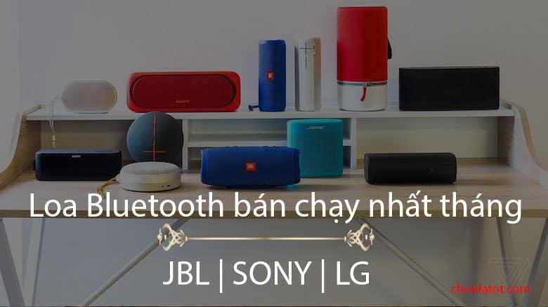 Top 15 loa Bluetooth bán chạy nhất tháng
