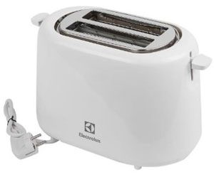 máy nướng bánh mì electrolux ets1303w 930w (trắng)