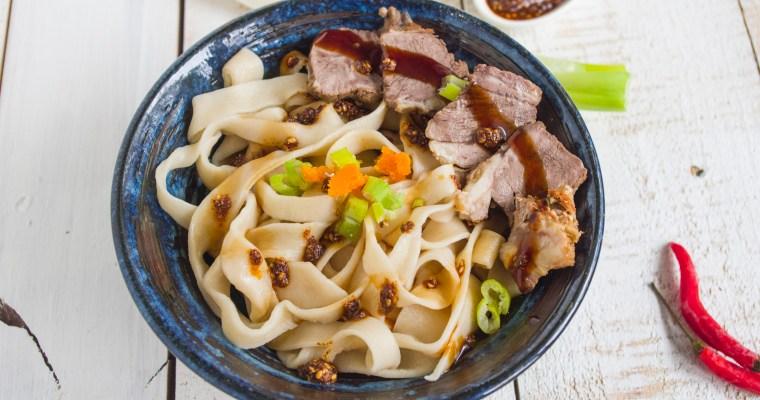 MALA BEEF NOODLES | 麻辣牛肉乾拌麵