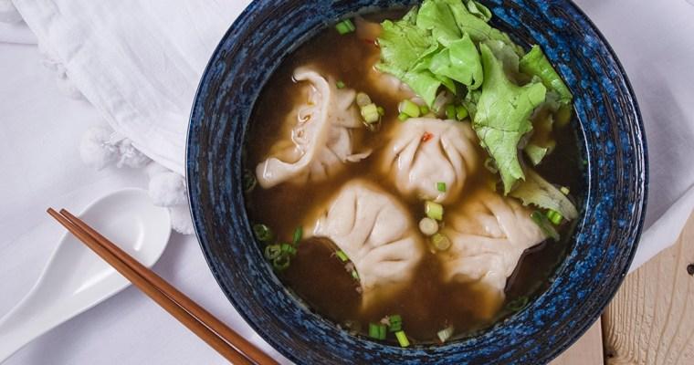 Taiwanese Dumpling Soup | 紅燒湯餃