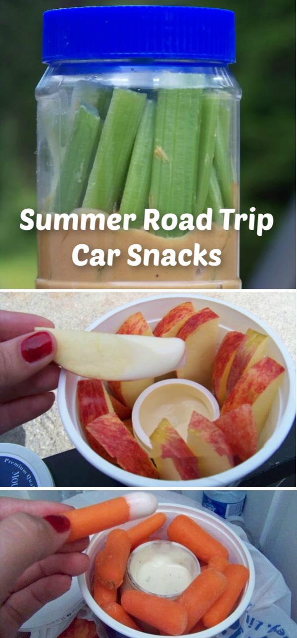 Summer Road Trip Car Snacks