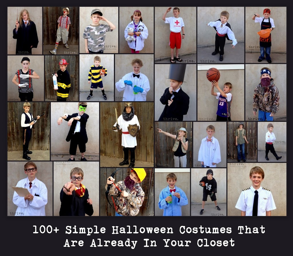 0d157af0b0107 100+ Simple Halloween Costumes That You Probably Have In Your Closet ...