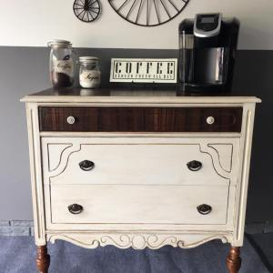 Re-purposed Dresser Finds a Home in My Kitchen
