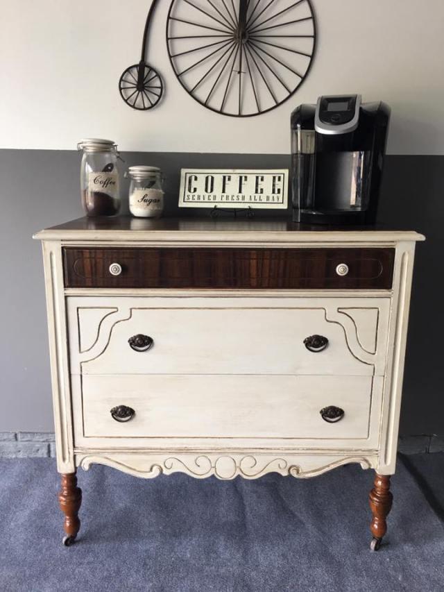Repurposed Dresser Finds Home in Kitchen