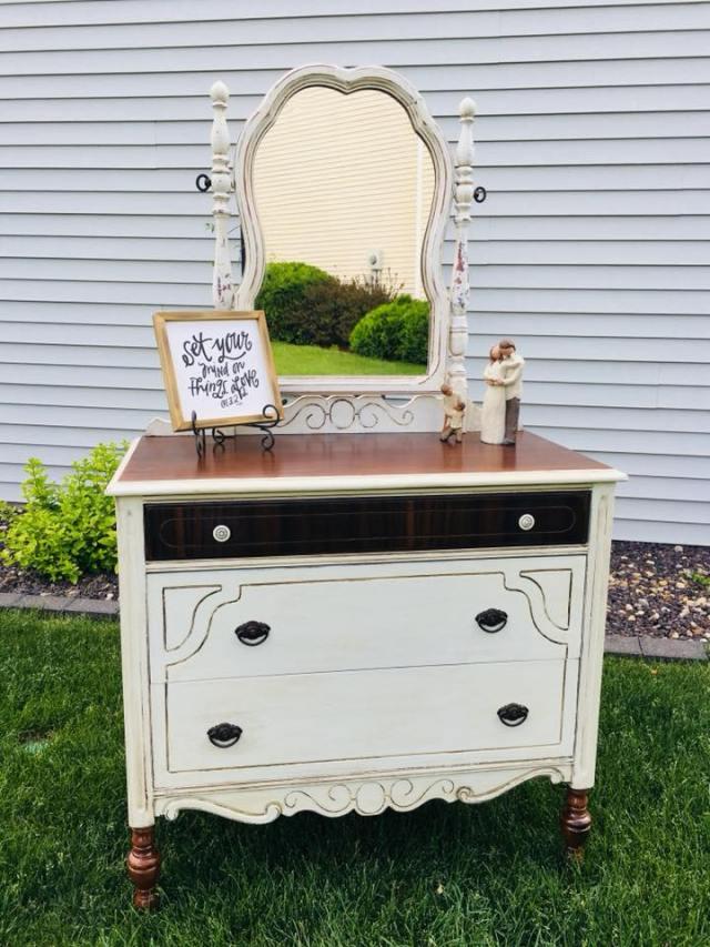 Repurposed Dresser First Stage