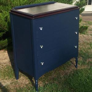 From Pitiful to Stunning- Neglected Cabinet Gets Major Makeover