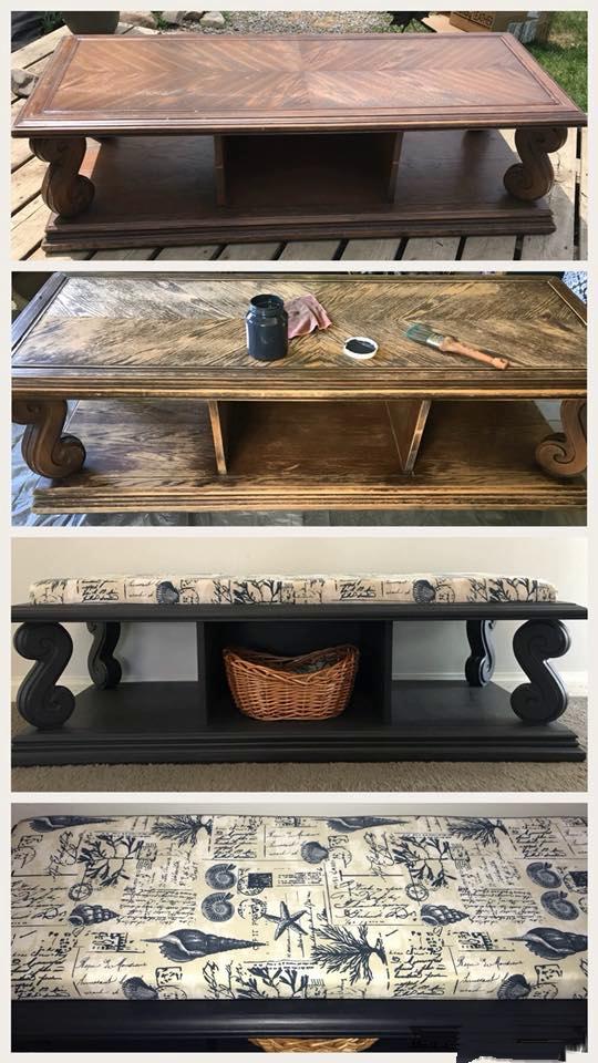 Coffee Table Repurposed