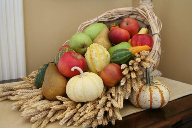 more produce in the cornucopia