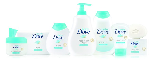 Baby Dove_Rich Moisture_Range