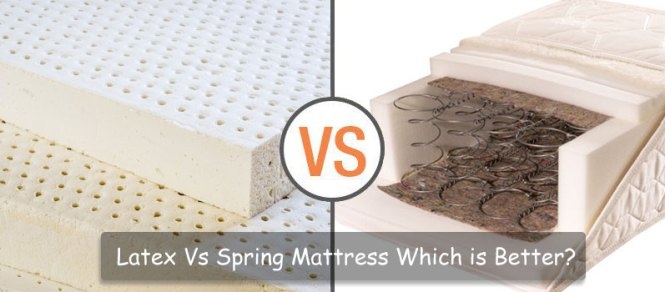 Latex Vs Spring Mattress