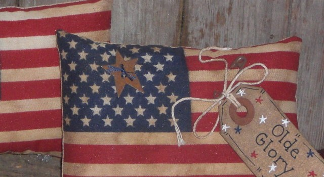 Primitive Americana Flags
