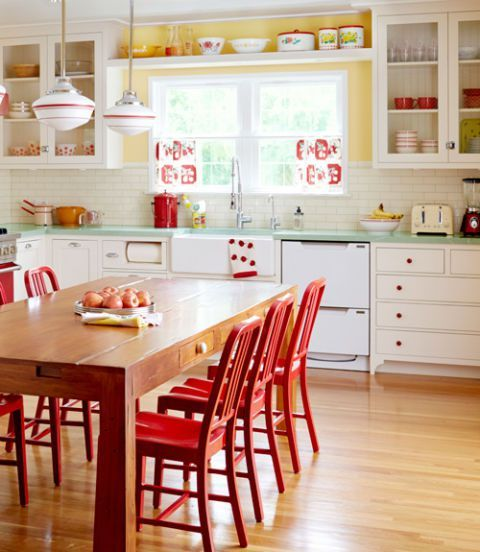 Country Kitchen Décor, Country Kitchen Décor with Natural Appearance