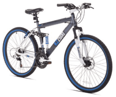 Kent Thruster KZ2600 Dual-Suspension Mountain Bike