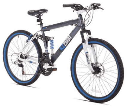 Kent Thruster KZ2600 Dual-Suspension Mountain Bike