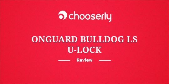 on guard 8020 mastiff bike lock review