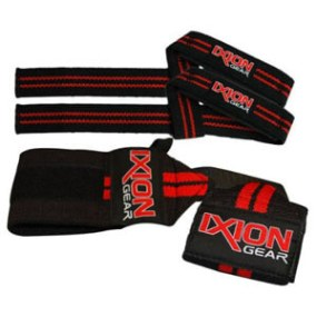 Ixion Gear Best Weightlifting Wrist Wraps and Lifting Straps