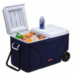 Rubbermaid 75 qt 5-Day Wheeled Ice Chest