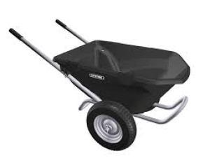 Lifetime 65034 Two Wheel Wheelbarrow