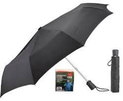 Lewis N. Clark Auto Open Close Compact Travel Umbrella