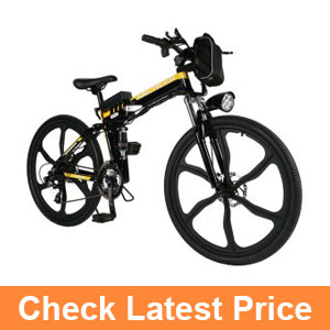Ancheer 36V 250W Electric Bicycle Lithium-Ion Battery Electric Mountain Bike