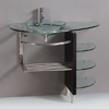 Contemporary Glass Vanity