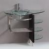 Contemporary Glass Vanity