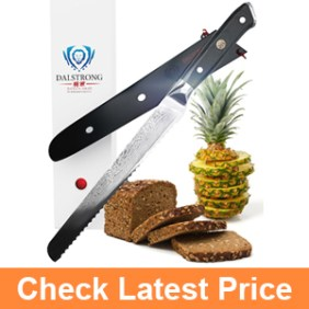 DALSTRONG Bread Knife - Shogun Series - VG10 - 10.25