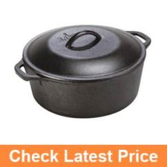 Lodge L8DOL3 Cast Iron Dutch Oven