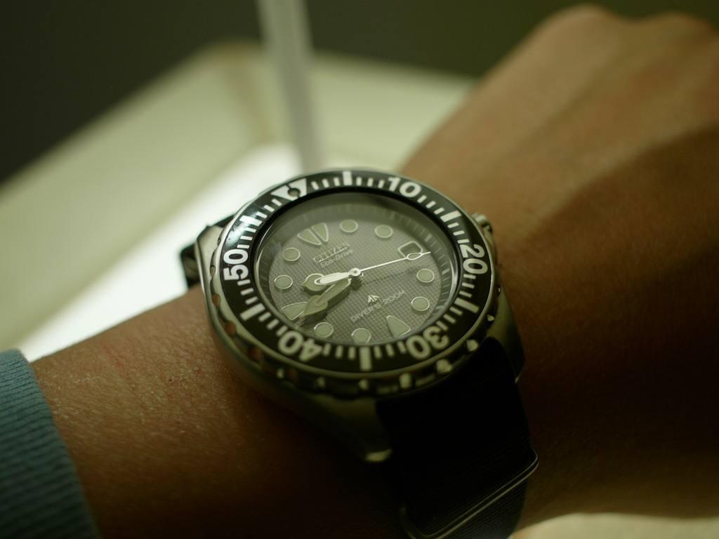 powered watch