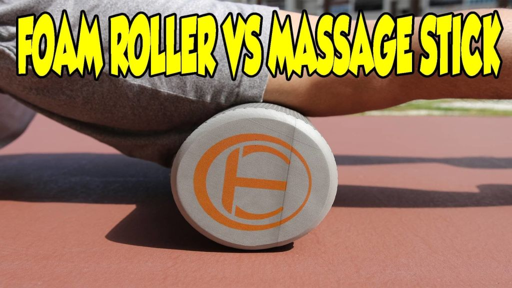 FOAM ROLLER VS MASSAGE STICK