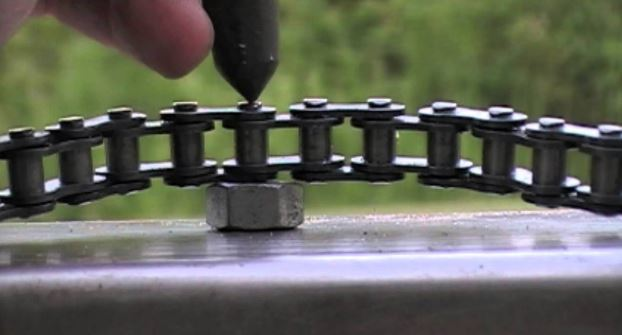 shorten a bike chain without a chain tool