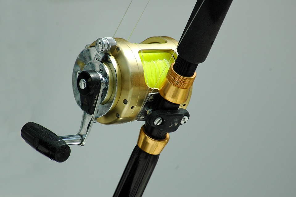 A combo of Rod, Reel, and Line